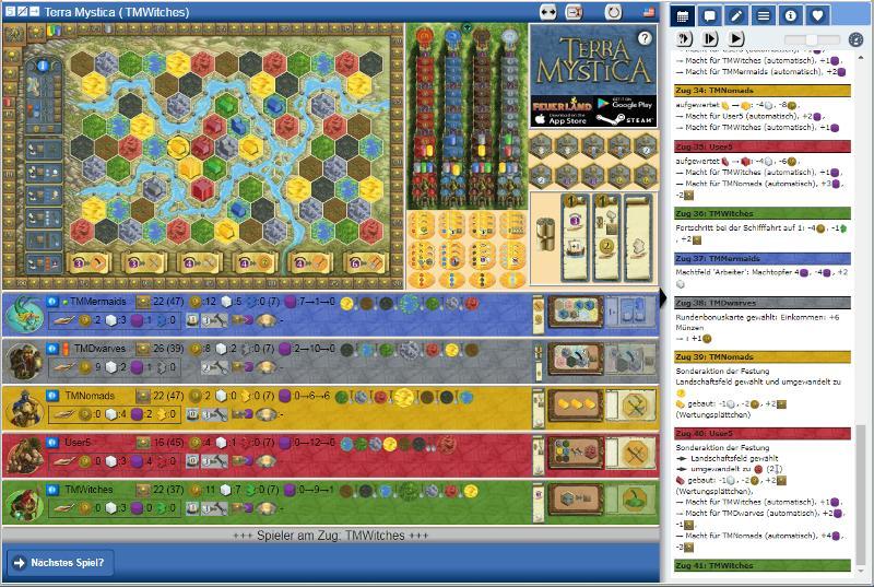 Yucata - Play Terra Mystica online for free!